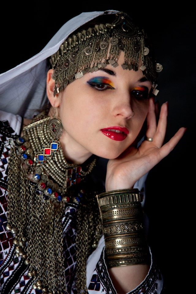 Afghan jewelery, Traditional silver and gold plated Afghan ...