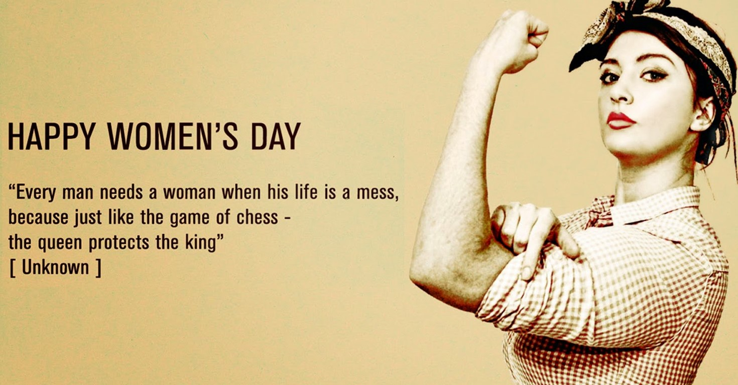 Happy International Women's Day (8 March)