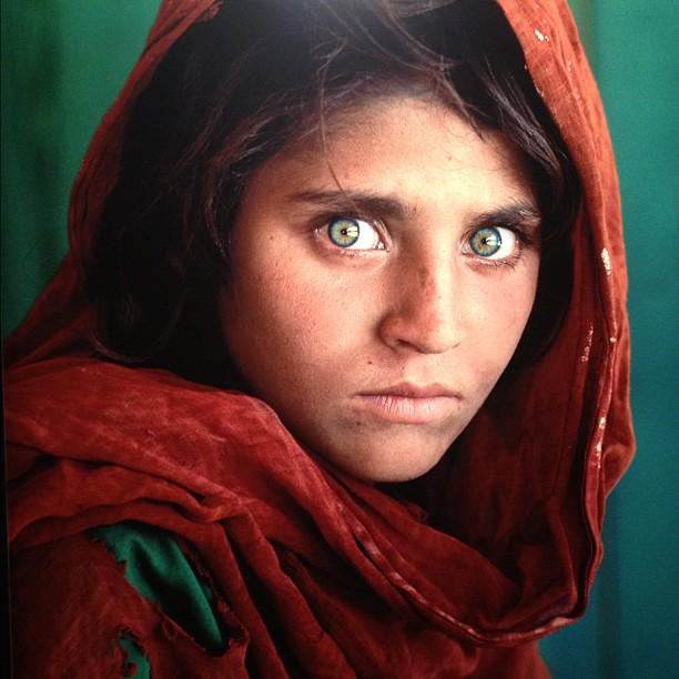 Green eyes, Rare Eye pigmentation In afghanistan and all over the world