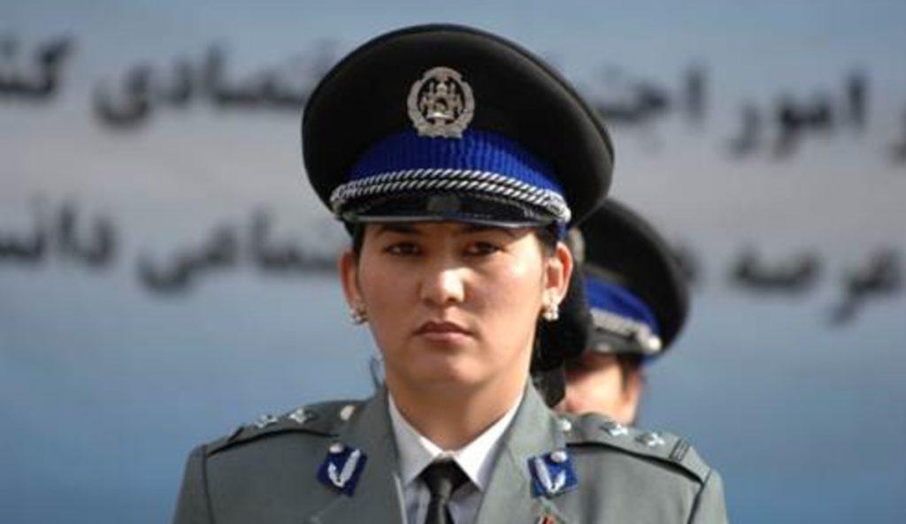 afghan female police